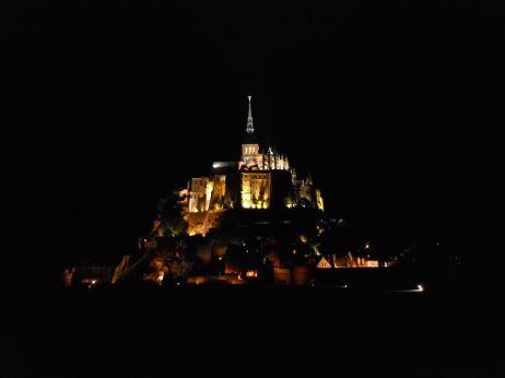 Le Mont-Saint-Michel has stood majestically as a beacon to pilgrims for centuries, and at night it is at its most striking and its most tranquil.