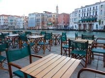 The peace and tranquility of Venice are best enjoyed early at morning or late in the evening.