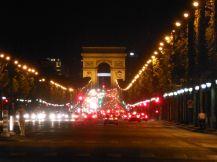 Gazing down the Champs-Elysées from Place de la Concorde down to L'Arc de Triomphe.