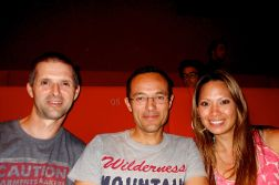 Denis, Arnaud and I watched The Dark Knight Rises at the MK2 Cinema in the 13th arrondissement of Paris.