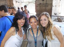 I bumped into one of my former dance students, Leandra Peters and her mom Francine at the Colosseum in Rome. Random and cool!