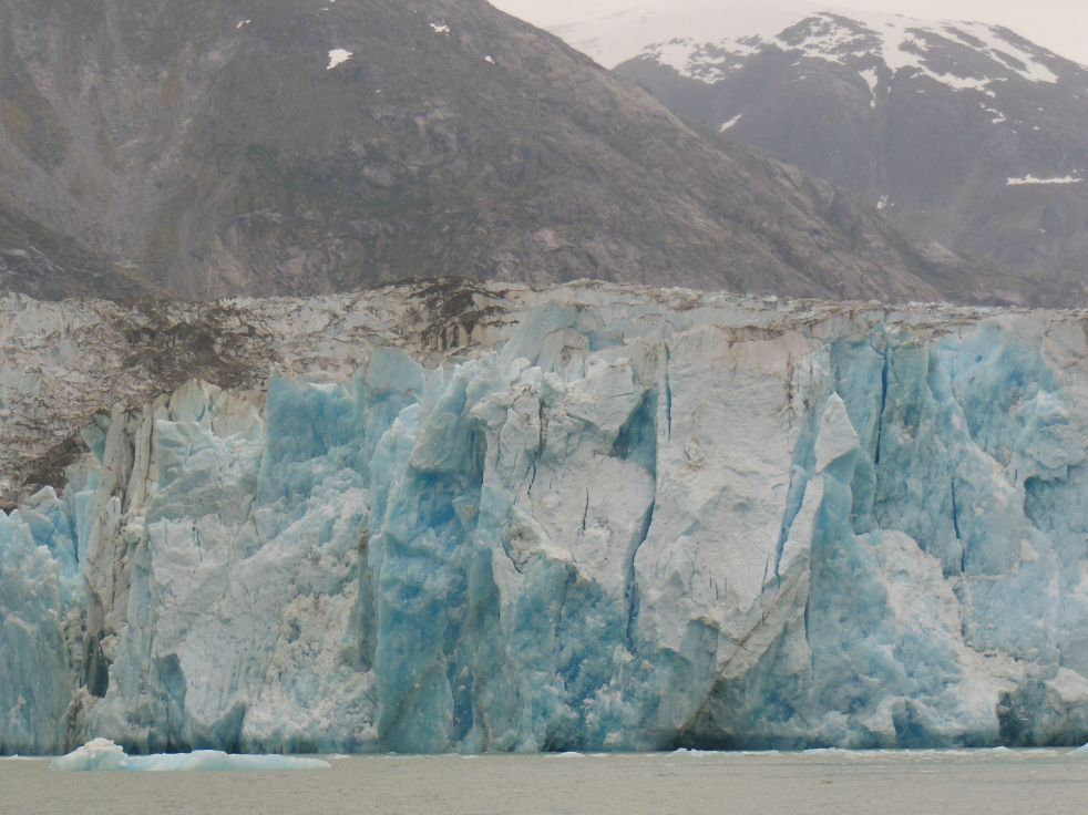 Which one of these glacial chunks is going calve?  Only nature knows.