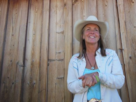 Liza Jane, one of the owners of 6 Ranch, is a real-deal cowgirl.