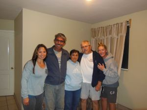 Tony, Cathy, and I were so humbled to be welcomed into this home and to learn of the family's history with Esperanza.