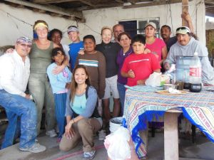 We may be here to help these families, but we're the ones learning a lot about life from them.