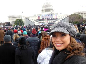 So thankful to be here for the second inauguration of President Barack Obama.