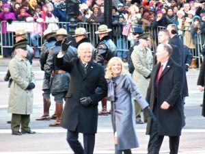 Bonus photo: Vice-president Joe Biden and Dr. Jill Biden.