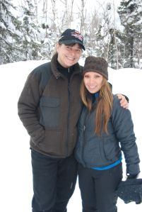 Visiting Jan in Willow, Alaska to help her prep for the start of Iditarod 2012.