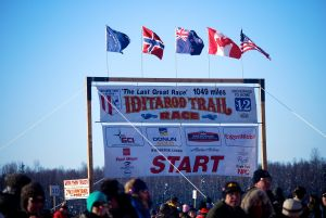 Welcome to the Official Start of the Iditarod.