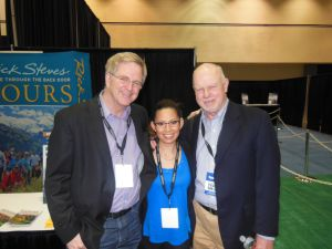 My two favorite public television/radio travel show hosts: Rick Steves and Rudy Maxa.  Rudy is a genuinely kind gentleman, and Rick is simply the best (yes, I'm biased).