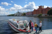 When you think of public transportation, you might imagine busses, metros, or trams. In Stockholm, you'll need to add public bus to your list.