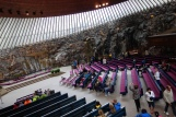 While we weren't in time to catch a service at the Church of the Rock in Helsinky, we were able to sit in on a beautiful piano concert, reveling in the beauty of the space and of the spirituality of the music.