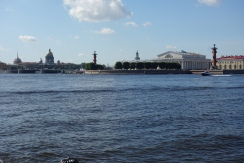 River-views like this are part of St. Petersburg charm.
