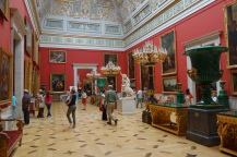 The Hermitage has a fantastic collection of art, and the palatial buildings that house it are equally remarkable.