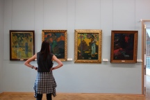 You can find a solid collection of Post-Impressionist and Modern art at the Hermitage.