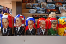 What a juxtaposition of Russian dolls!