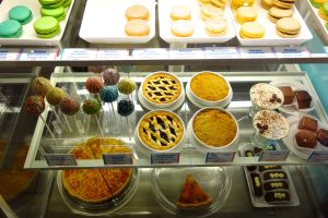 At The Cookie Shop, you can satisfy your sweet tooth  (teeth) with a whole slew of baked goods.