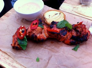 Chicken tandoori is a hit at New Holland.