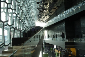 Everywhere you look inside Harpa, you'll find camera-worthy angles.