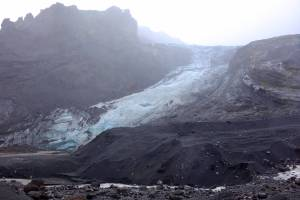 The E15 Glacier, although still impressive, is now only a portion of what it was prior to the 2010 eruption.