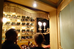 From my red velvet box seat at La Fenice, I sit gratefully, listening to  Keith Jarrett masterfully play the piano.