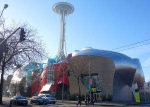 Situated on the Seattle Center campus, the Frank Gehry-designed Experience Music Project is a must-see for music lovers.
