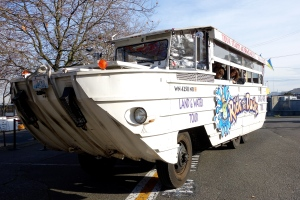 This amphibious vehicle from the 1940s is now an icon of Seattle tourism.