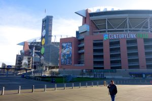Century Link Field--Home of the Seattle Seahawks