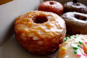 My mom's pick: glazed cronut.