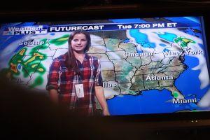 Jackie, the meteorologist.