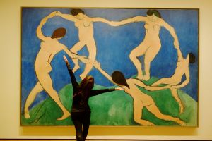 Dancing with Henri Matisse's Dance (I).