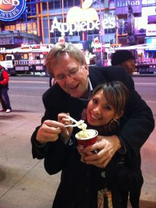 While we might never wait in a twenty minute line for ice cream in our hometown, it sure was worth it in NYC.