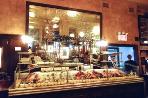 Balthazar's shrine to seafood.
