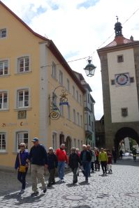 Stroll through Rothenburg early enough to beat the crowds.