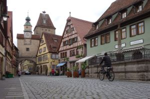 Rothenburg remains mostly as it was 500 years ago.