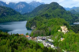 Hohenschwangau was Ludwig's childhood home and an inspiration for his own castle creations.