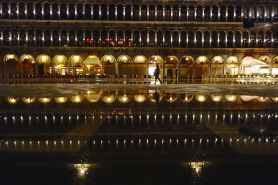 At night, it's easy to have the city virtually all to yourself.