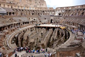 When you're at the Colosseum, try to imagine what it would have been like to be a part of the experience 2000 years ago.