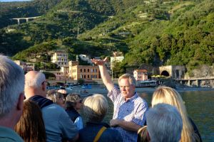 Rick steps back into his role as a tour guide and teaches our group all about Monterosso.