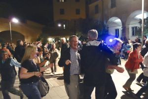 Dancing the night away at the Lemon Festival on the main square in Monterosso is a memory we'll always treasure.