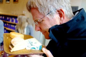 Rick loves stinky cheese.
