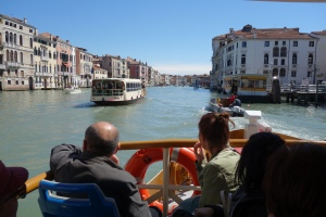 Cruising the Grand Canal on a vaporetto is relatively cheap...if you get the right kind of ticket for your purposes.