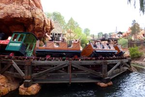 Lines are shorter for popular rides like Big Thunder Mountain when a parade is going on.