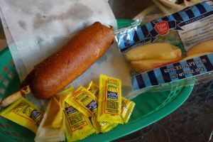 Disneyland corndogs always make me happy.