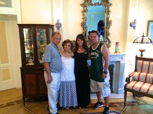 By taking a tour, my parents, Jerry, and I got an exclusive look at the Disneyland Dream Suite.