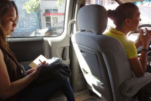We learned so much about Puerto Rican life from our cabbie/guide. (photo by Rick Steves)