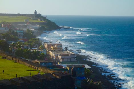 The beautiful island of Puerto Rico thrives on industries like tourism, pharmaceuticals, and manufacturing.