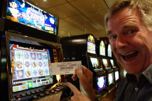 Even Rick can get into the fun at the casino...despite ending up with only $.05