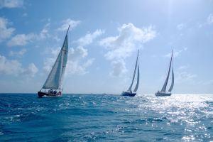 The America's Cup 12-meter Challenge in St. Maarten