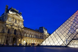 With heightened security, touristic sites like The Louvre are well guarded.